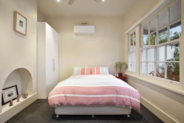 แบบห้องนอน ริมหน้าต่าง บ้านชั้นเดียว