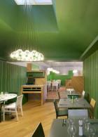 แบบร้านอาหารสีเขียว