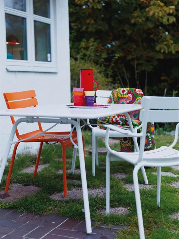 จัดมุมนั่งเล่นนอกบ้าน