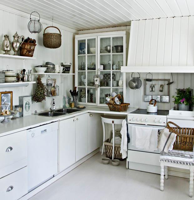 เคาเตอร์ห้องครัวสีขาว