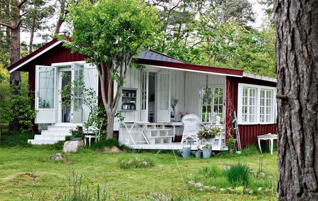 แบบบ้านไม้ สไตล์วินเทจ