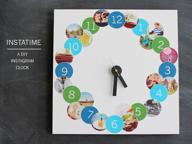 DIY นาฬิกาแขวน