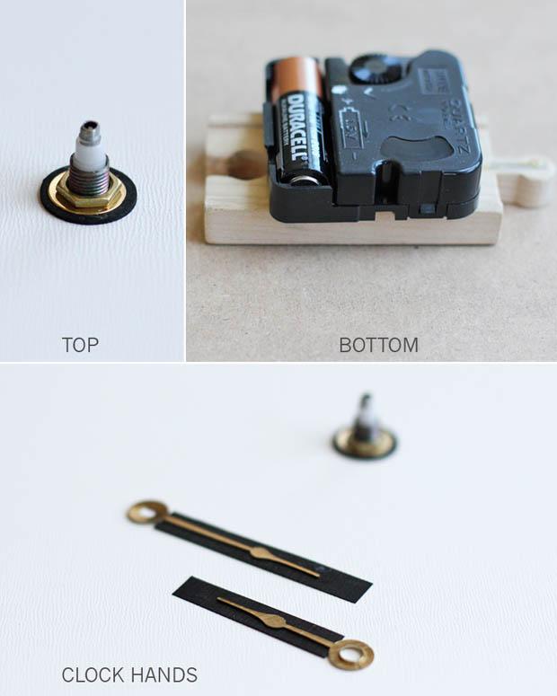 วิธีการทำนาฬิกาแขวนแบบง่ายๆ