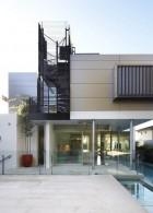 แบบบ้าน 2 ชั้นครึ่ง สมัยใหม่ มีสระว่ายน้ำ