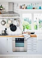 แบบห้องครัวสีขาว