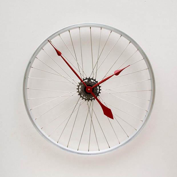 DIY นาฬิกาแขวนฝาผนัง
