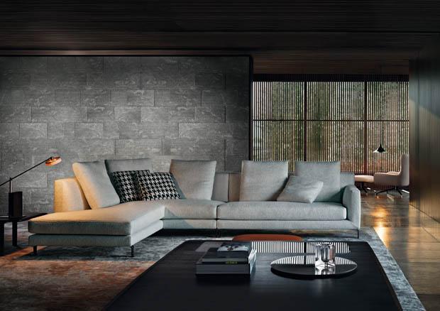 Living room for Divano hermes