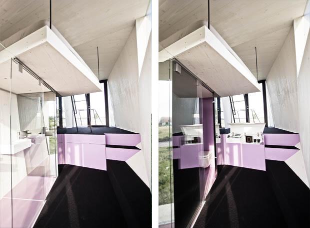 แบบบ้านหลังเล็กมาก มีครัว ห้องน้ำ ห้องนอน