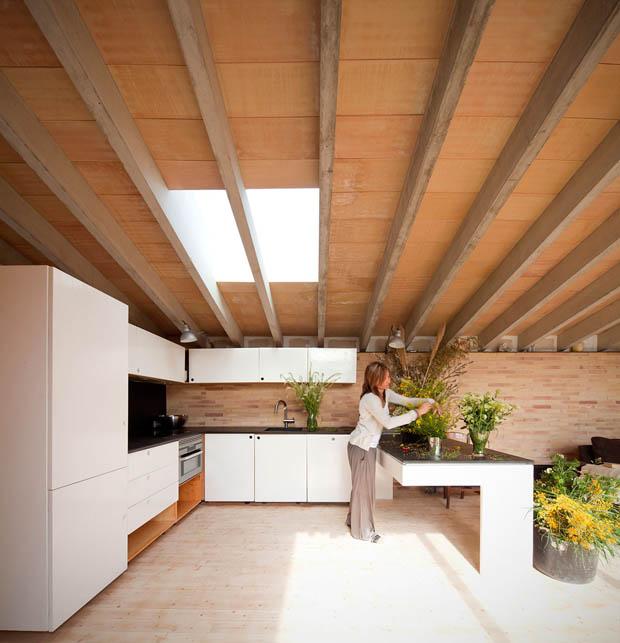 จัดสวนในห้องครัว