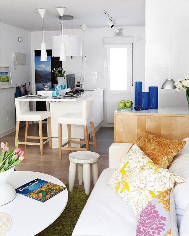 แบบอพาร์ทเม้นท์สีขาวสะอาด
