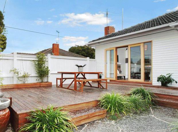 จัดสวนหน้าบ้าน บ้านสวยชั้นเดียว