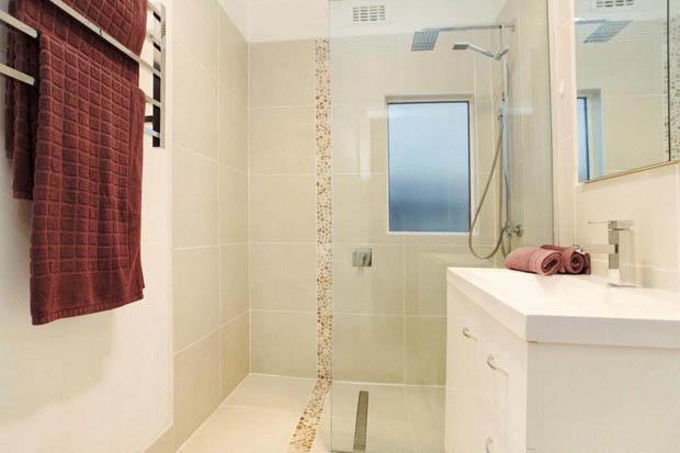 ห้องน้ำสวย ขนาดเล็กกระทัดรัด