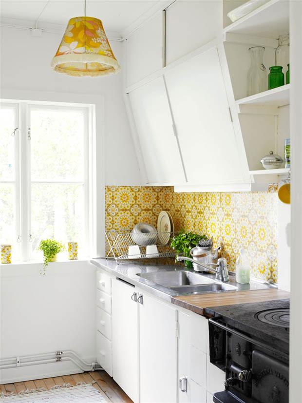 แต่งห้องครัวด้วยสีขาว