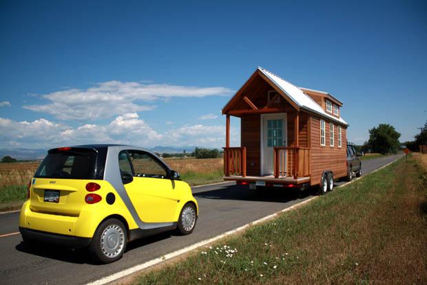 บ้านไม้ บ้านรถ ลากเคลื่อนย้าย