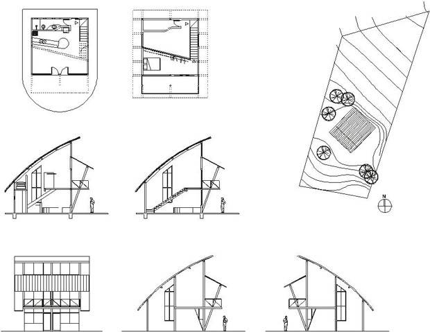 ออกแบบโครงสร้างบ้าน สองชั้น