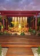 การจัดตั้งพระพุทธรูป ภายในสวนอย่างถูกวิธี