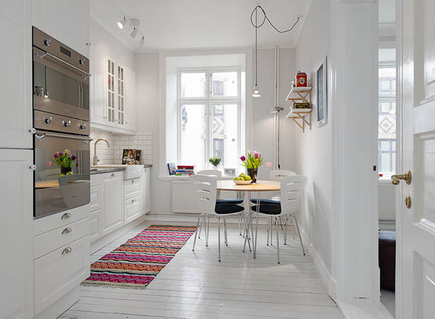 แบบห้องครัวสีขาวน่ารักๆ