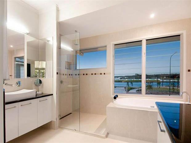 แบบห้องน้ำ มีหน้าต่างชมวิว