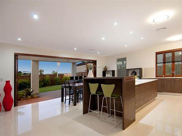 ออกแบบห้องครัว ภายในห้องนั่งเล่น