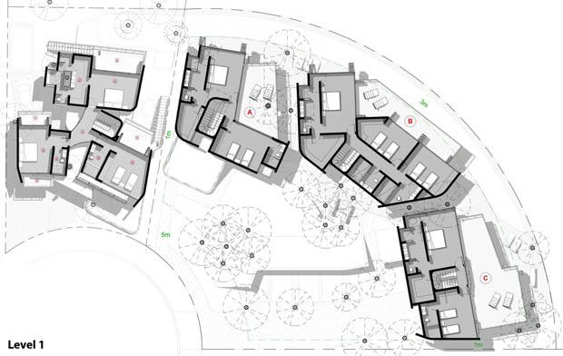 การออกแบบสถานที่ รีสอร์ท ที่พัก