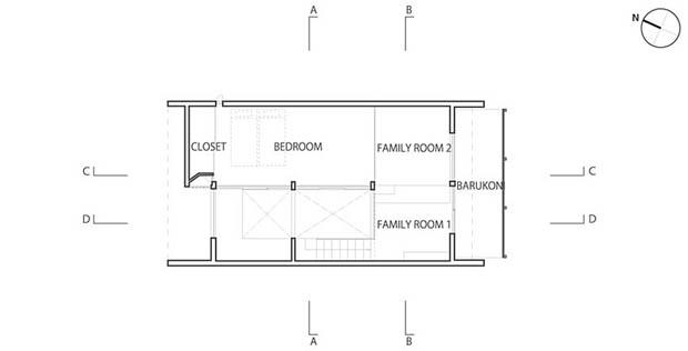 แบบแปลนสร้างบ้าน ประหยัดงบ ที่ดินน้อย