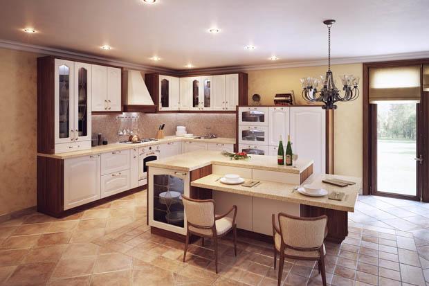 แบบห้องครัวคลาสสิค