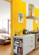 ทาสีบ้าน สีผนังห้อง สีเหลือง