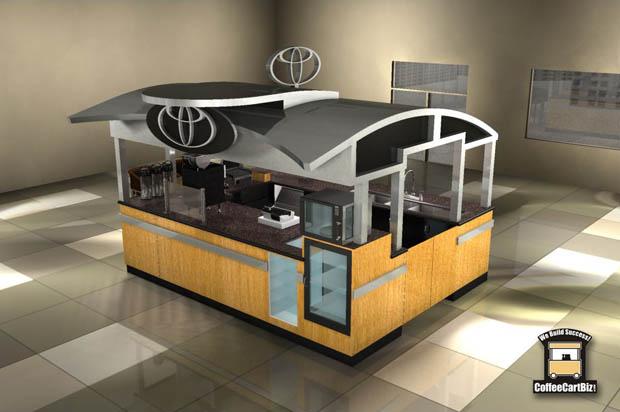 ออกแบบซุ้มร้านกาแฟ ร้านเล็กๆ