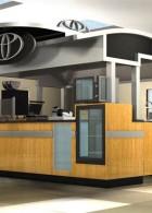 mini coffee shop Design