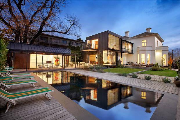 แบบบ้านคฤหาสน์หลังใหญ่ บ้านในฝัน