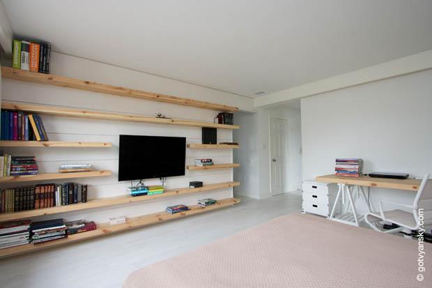 ชั้นวางทีวีไม้ติดผนัง « บ้านไอเดีย เว็บไซต์เพื่อบ้านคุณ