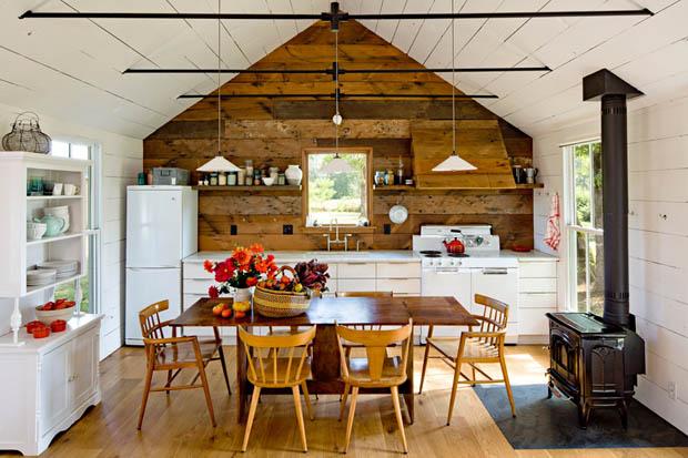 ตกแต่งห้องครัวด้วยไม้