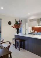 การจัดห้องครัวให้สวย ภายในบ้านชั้นเดียว