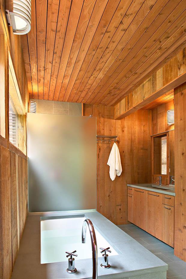 ห้องน้ำ บ้านไม้ ออกแบบงดงาม