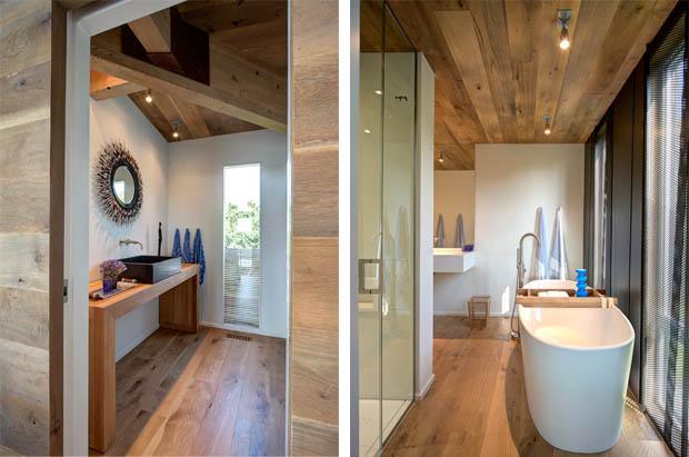แต่งห้องน้ำสวย ภายในบ้านไม้