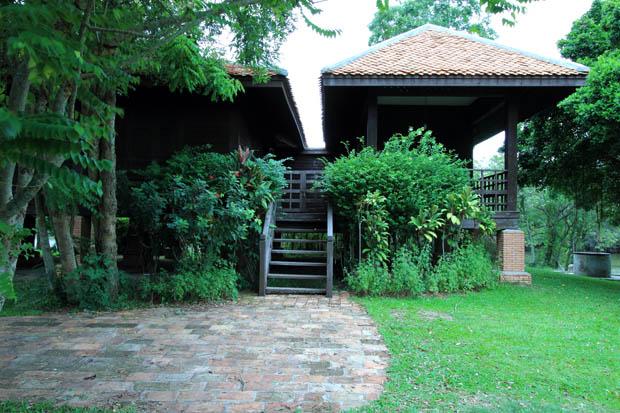 แบบบ้านไม้ เรือนไทยโบราณ