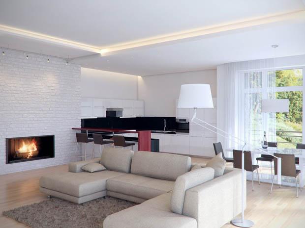 living room d pendelleuchte depeche 3 wei gold pendelleuchte stylish france living room. Black Bedroom Furniture Sets. Home Design Ideas