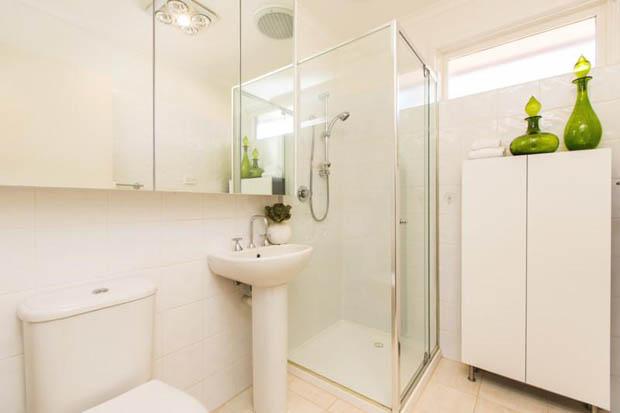 แต่งห้องน้ำแคบๆ สวยที่สุด