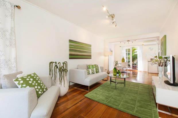แต่งบ้าน ธีมสีเขียว