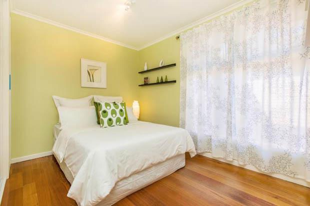 แต่งห้องนอน ธีมสีเขียว