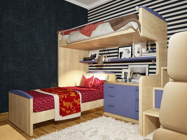 เตียงนอนสองชั้นทันสมัย 171 บ้านไอเดีย เว็บไซต์เพื่อบ้านคุณ