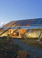 แบบบ้าน พลังงานแสงอาทิตย์ พลังงานกังหันลม