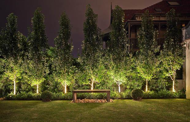 หลอดไฟ Warm white แสงไฟ สำหรับจัดสวน