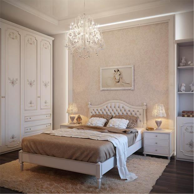 ห้องนอนคลาสสิคแสนสวย
