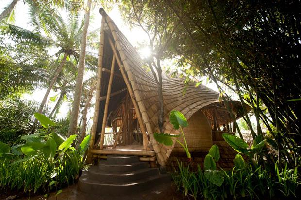 แบบรีสอร์ท ทำจากไม้ไผ่ Eco Resort