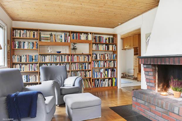 ห้องอ่านหนังสือสบายๆ