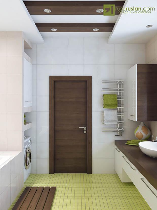 ประตูห้องน้ำสวยทน