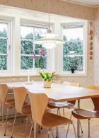 โต๊ะทานข้าวในห้องครัวสวยๆ