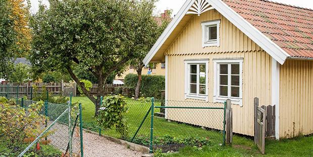 บ้านสีเหลืองชั้นครึ่ง