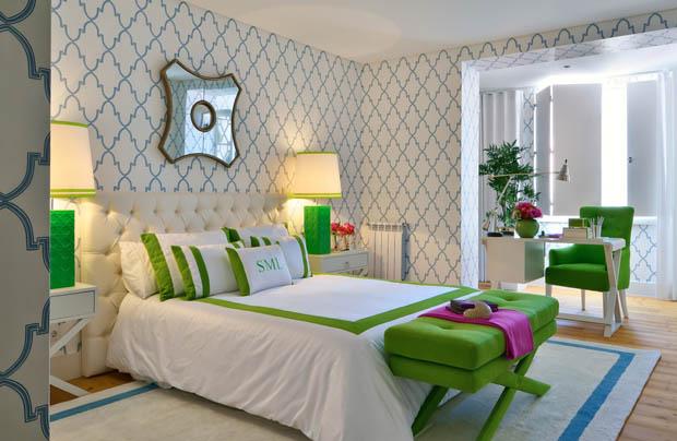 for Bedroom wallpaper designs b q